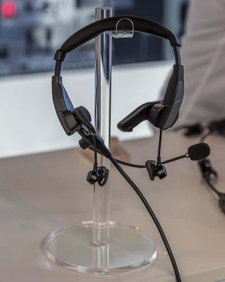 bose in ear aviation headset