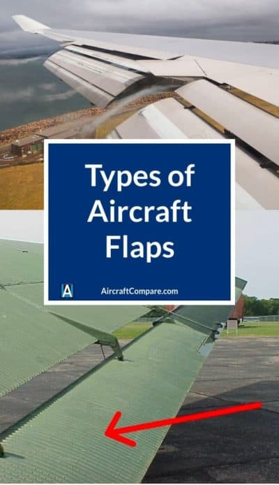 types of aircraft flaps PIN