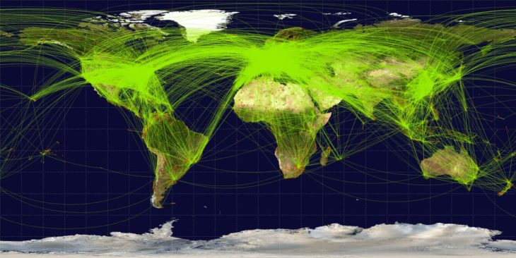 World-airline-routemap