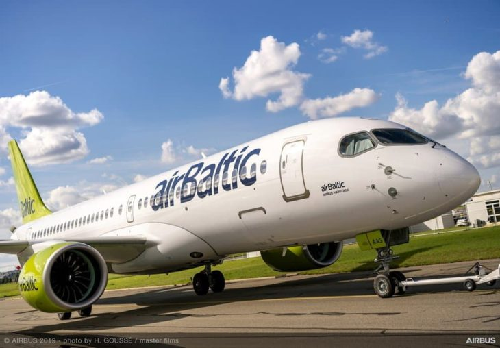 A220-300 airBaltic