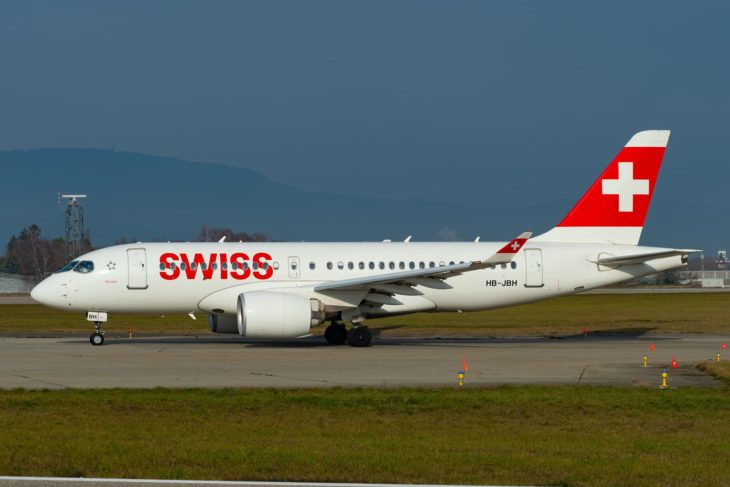 Airbus A220-100 Swiss