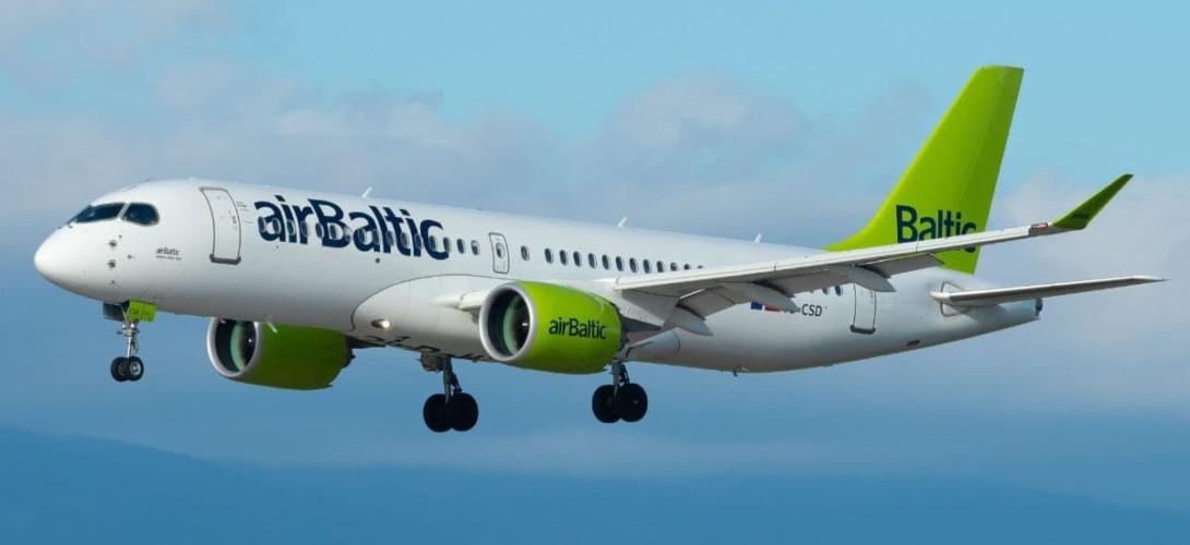 Airbus A220-300 Baltic