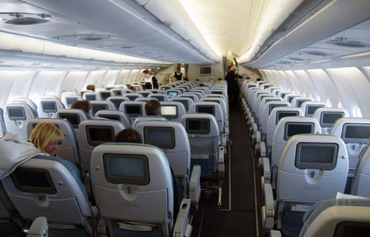 Airbus A330-300 interior cabin