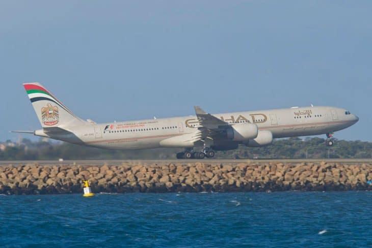 Airbus A340-500 Etihad Airways