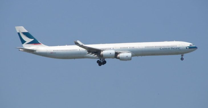 Airbus A340-600 Cathay Pacific