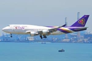 Boeing 747-400 Thai Airways International