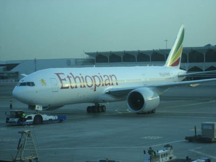 Boeing 777-200LR Ethiopian