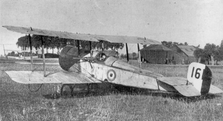 Bristol Scout C aircraft