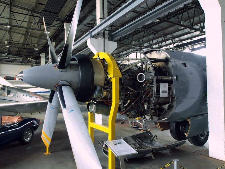 Rolls-Royce Tyne turboprop engine