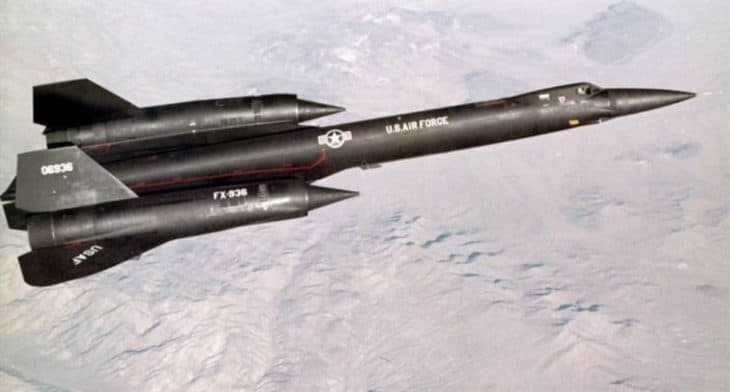The Lockheed YF-12