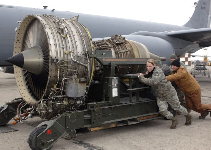Turbofan Engine US Air Force