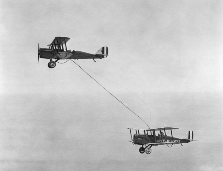 Worlds First Refueling Mission