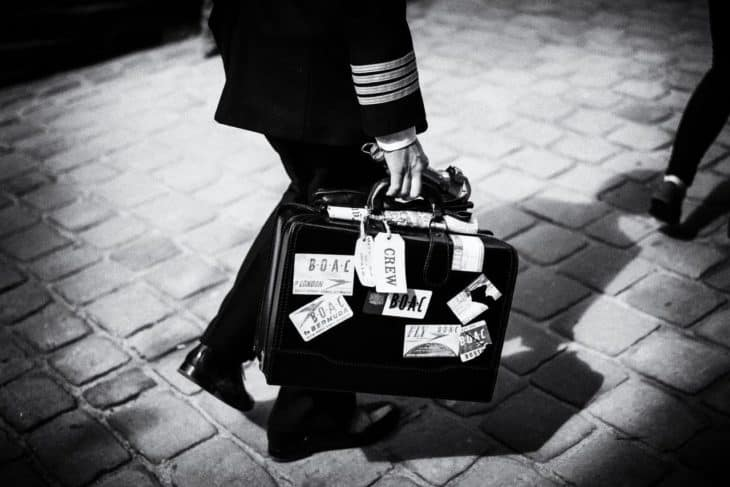 best flight bag for pilots black and white featured image