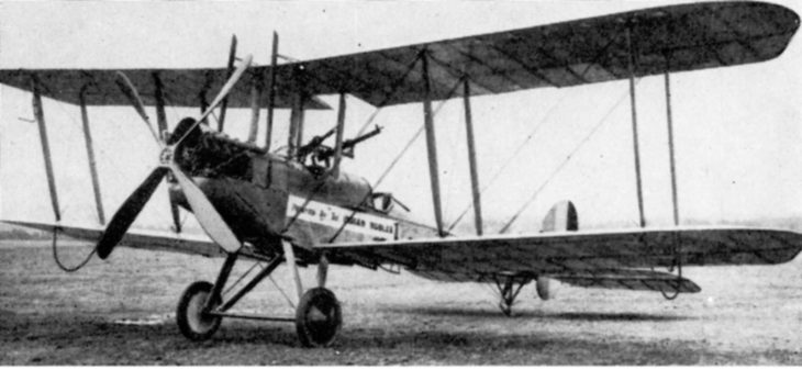 operational B.E.2c of the RFC in 1916