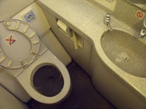 How Airplane Toilets Work (Releasing Waste Mid-Air?!)