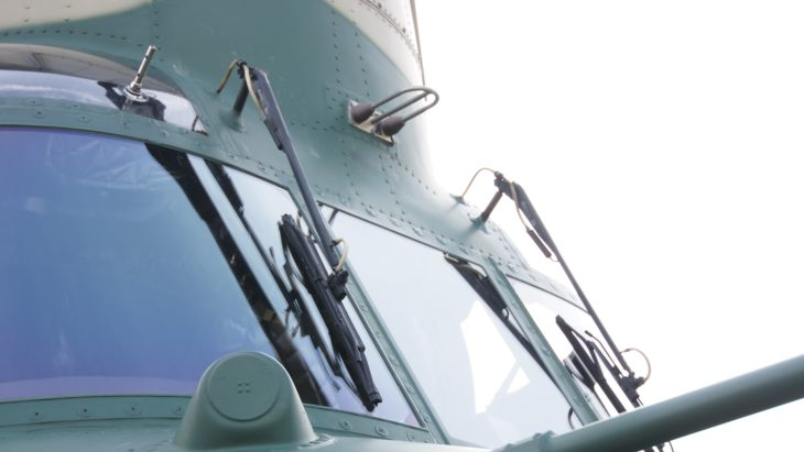 JASDF Boeing CH-47J(LR) Chinook Windshield WIpers