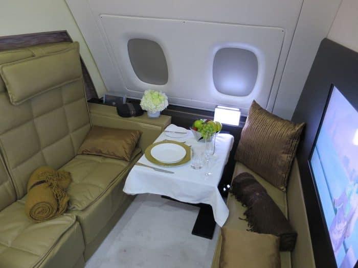 A380 First Class Apartment Etihad Airways