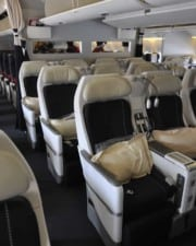 The Different Types of Airplane Seats On International Flights