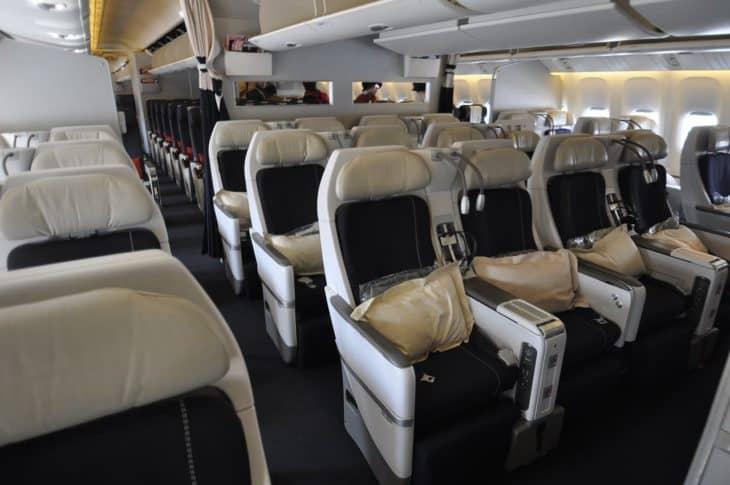 Air France aviation Premium economy class B777-300ER