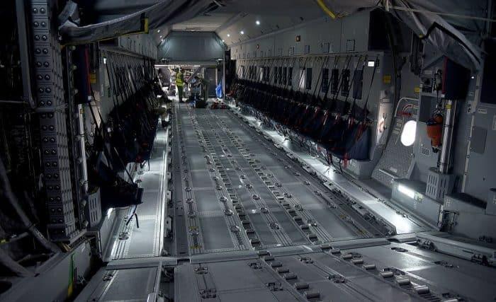 Airbus A400M Atlas - Inside Cargo