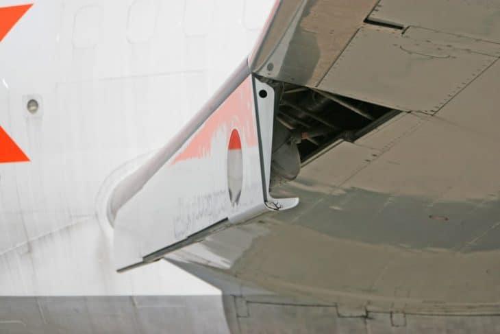 Boeing 727 Krueger Flaps