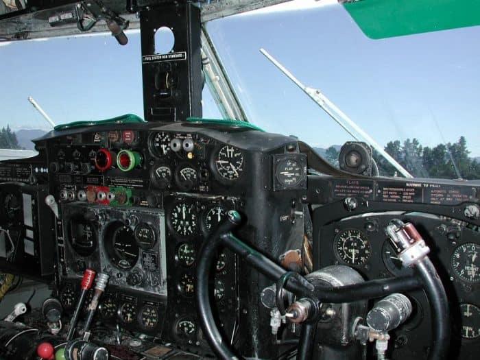 Bristol Freighter Flight Deck Cockpit