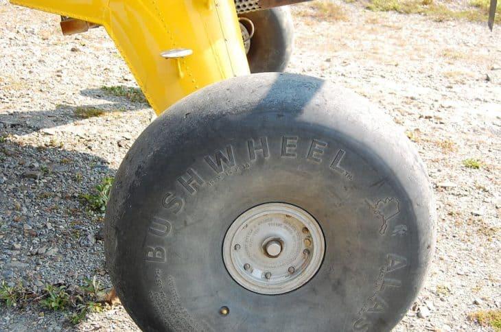 Bush Plane Wheel