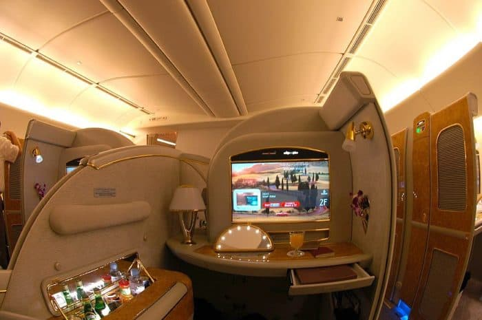 Emirates Boeing 777-200LR First Class Suite