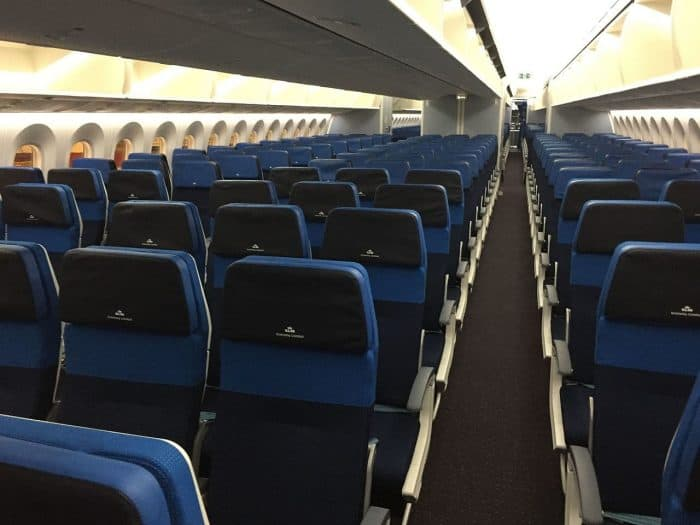KLM 787-9 Economy class