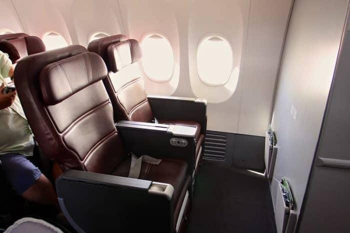 Qantas Business Class Seat - Boeing 737-800