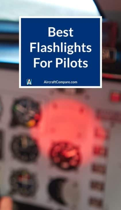 best flashlights for pilots PIN