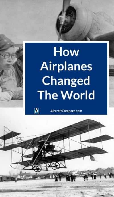 how airplanes changed the world PIN