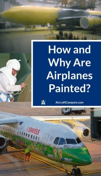 how and why are airplanes painted PIN