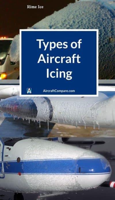 types of aircraft icing PIN