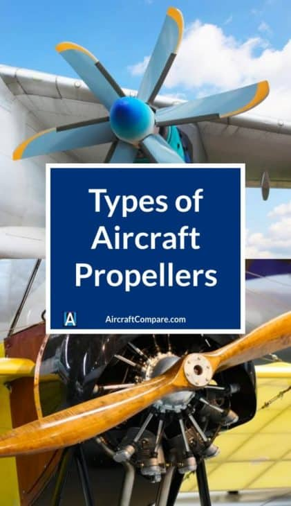 types of aircraft propellers PIN
