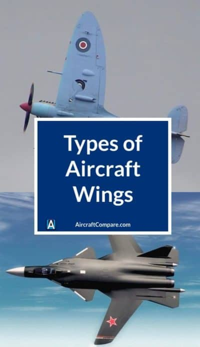 types of aircraft wings PIN 2