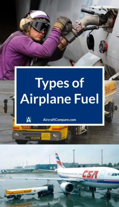 types of airplane fuel PIN
