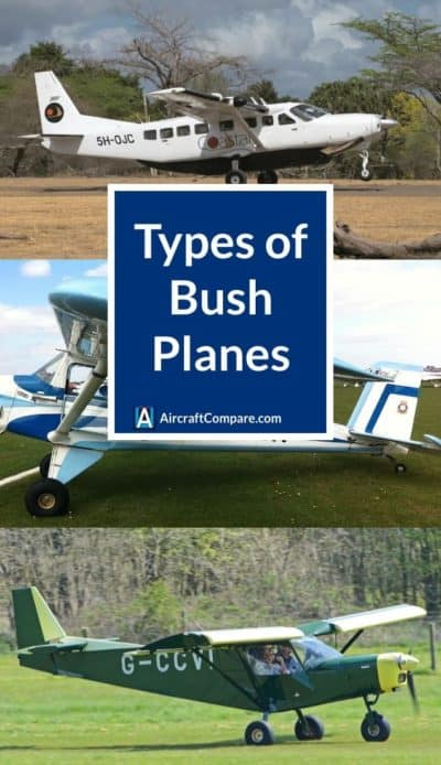 types of bush planes PIN
