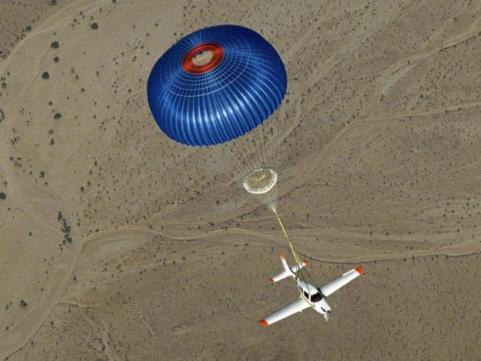 BRS Ballistic parachute Parachutes for small airplanes