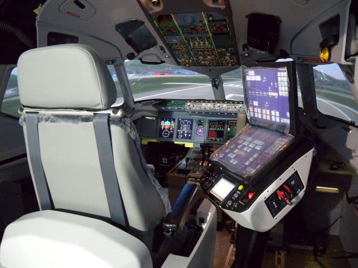 Flight Simulator manufactured by Thales Training & Simulation