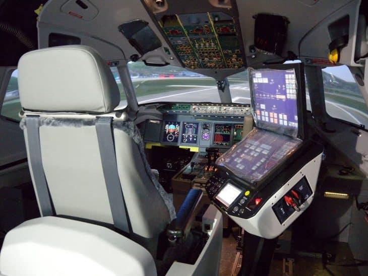 Flight Simulator manufactured by Thales Training & Simulation