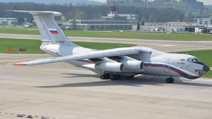 Ilyushin Il-76 of the Russian Air Force (flying hospital)