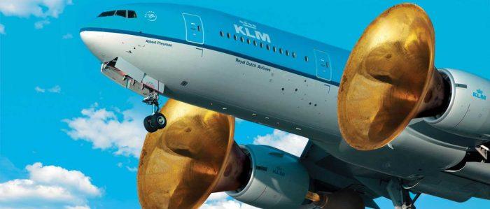 KLM Plane Horn