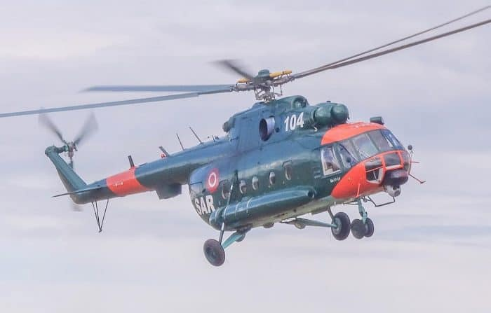 MIL Mi-8 - Latvian Air Force