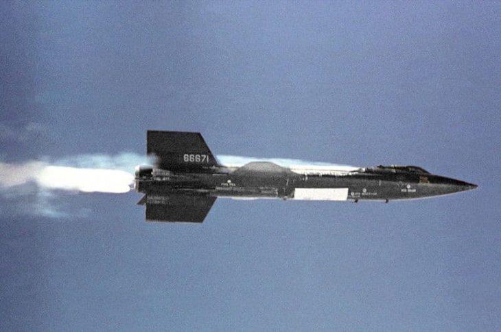 North American X-15 In Flight