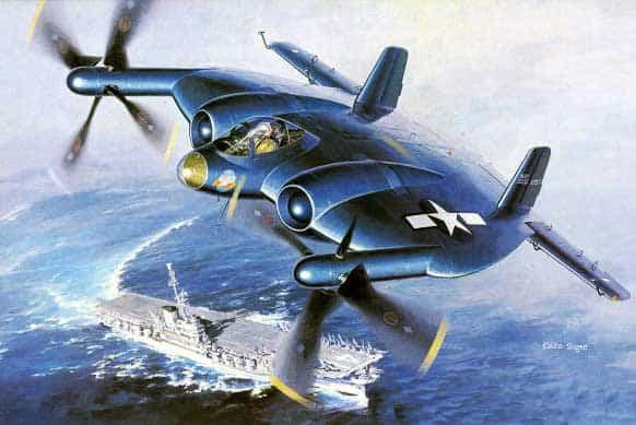 Vought XF5U - Flying Pancake