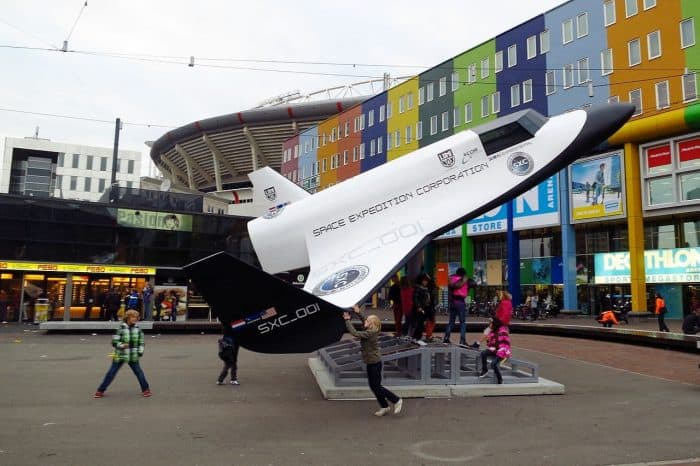 XCOR Lynx Mockup in The Netherlands