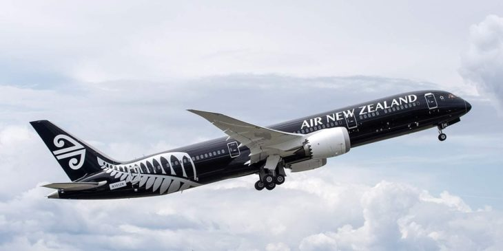 Air New Zealand Boeing 787-9 Black Livery