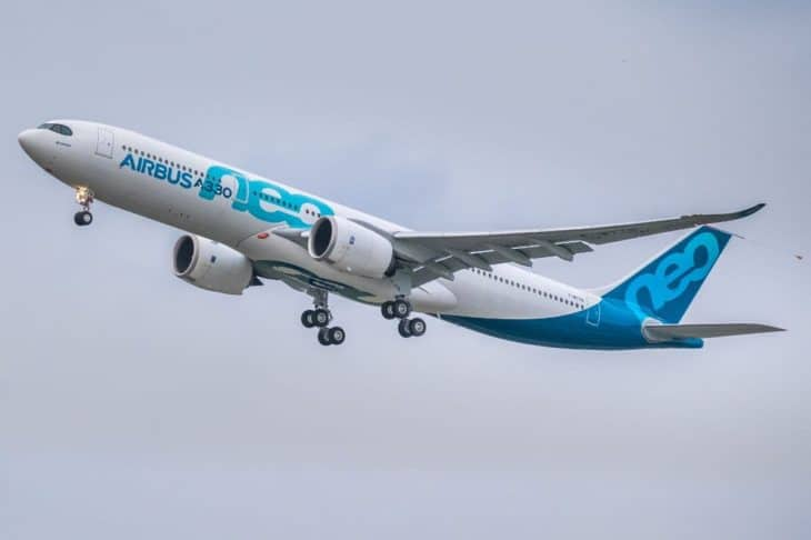 Airbus A330 neo - first take off