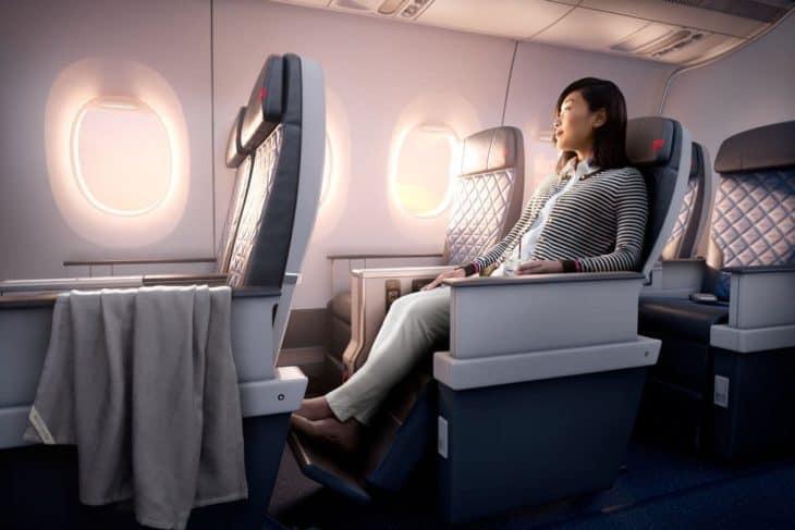 Airbus A350 Delta Premium Select cabin
